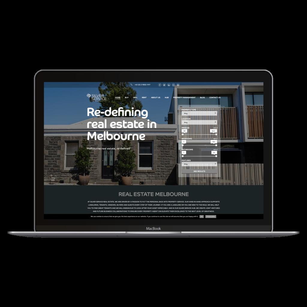 Silver Service website