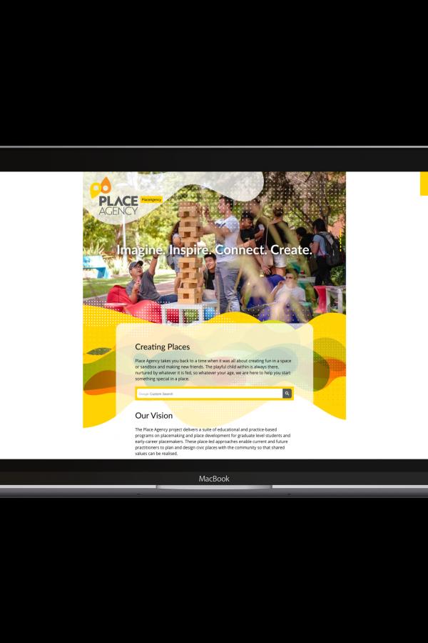 Place Agency website